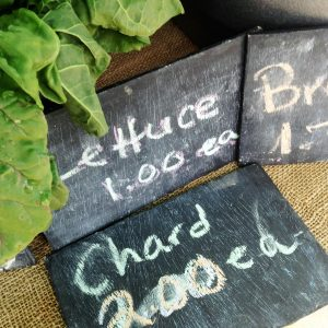 """What We Do page image #1"" farmers mkt chalkboards"